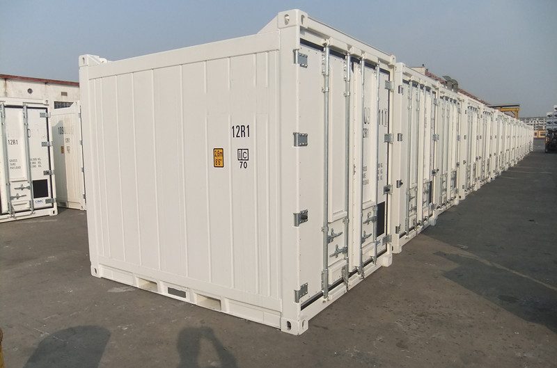 location container frigorifique 10ft Offshore Reefer ferme de container