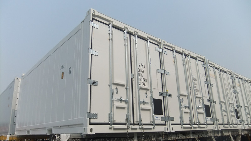 location container frigorifique 20ft Offshore reefers freme de containers