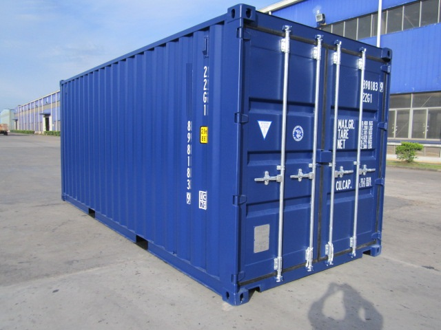 Container maritime 20 pieds dry container reefer for Isolation conteneur maritime