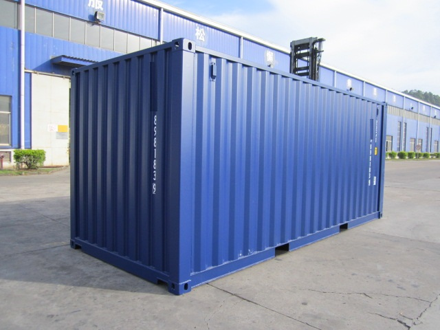 container maritime 20 pieds dry container reefer