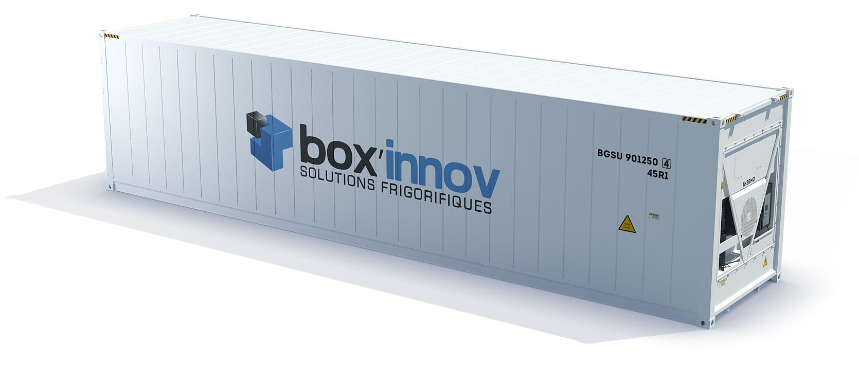 container frigorifique 40 pieds reefer vente ou location neuf ou occas. Black Bedroom Furniture Sets. Home Design Ideas
