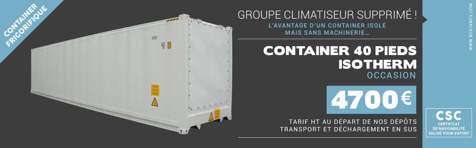 location container frigorifique container-20-reefer-isotherm-boxinnov