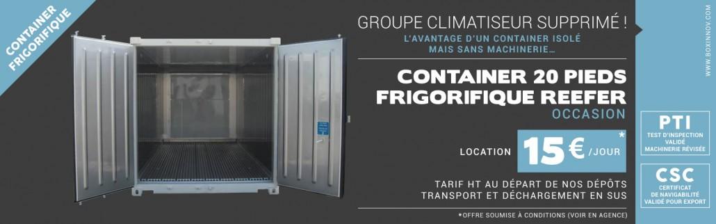Container Frigorifique Reefer Vente Et Location Sur Toute La