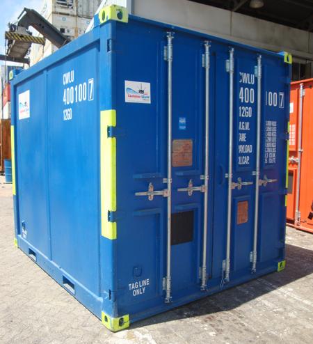 location container frigorifique 10 pieds offshore dnv