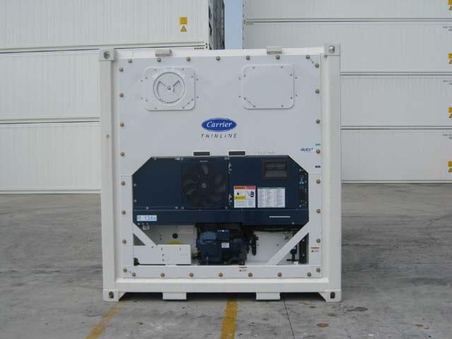 location container frigorifique conteneur 40 reefer carrier système de refroidissement