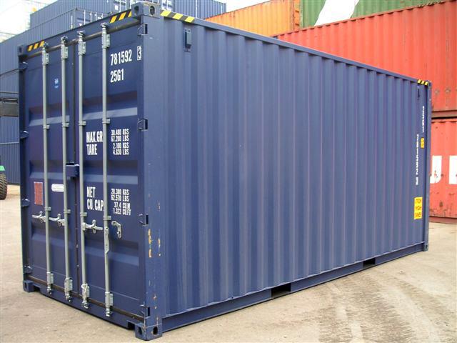 location container frigorifique maritime 20 High Cube side