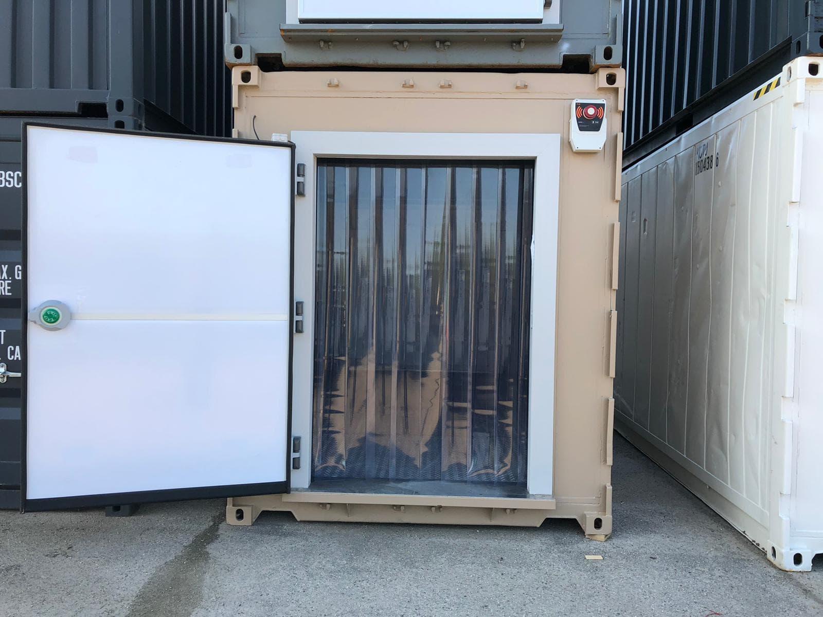 container frigorifique aménagé