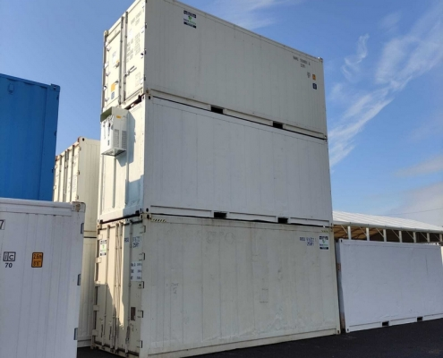 conteneur frigorifique moteur silencieux